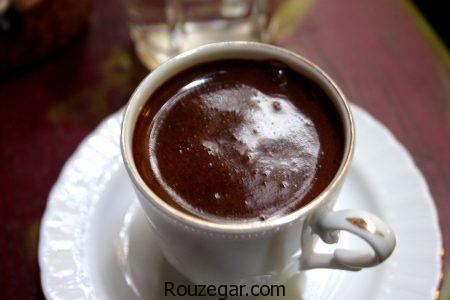 قهوه ترک اصل,طرز تهیه قهوه ترک اصل کف دار,آموزش قهوه ترک اصل خوشمزه خاگی