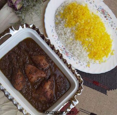 خورشت فسنجان,طرز تهیه خورشت فسنجان مجلسی,آموزش خورشت فسنجان خوشمزه با گوشت,روش تهیه خورشت فسنجان با مرغ,دستور پخت خورشت فسنجان با گوشت قلقلی,خورشت فسنجون