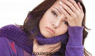 درمان گلودرد آلرژیک،علت گلودرد ناگهانی،علت گلودرد صبحگاهی