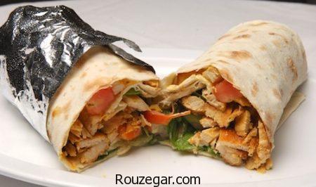 کباب ترکی,طرز تهیه کباب ترکی با مرغ,آموزش کباب ترکی خانگی خوشمزه