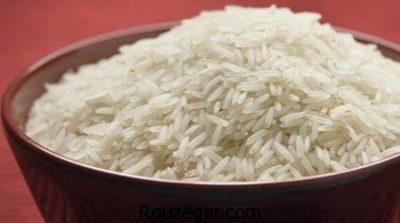 خواص برنج سفید برای زخم روده،خواص برنج سفید برای نقرس،خواص برنج سفید برای تقویت مثانه