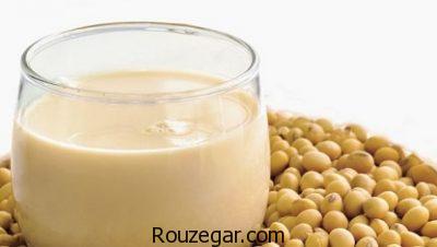خواص شیر سویا در لاغری،خواص شیر سویا برای مردان،خواص شیر سویا برای جنین