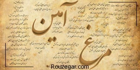 مرغ آمین نیما یوشیج