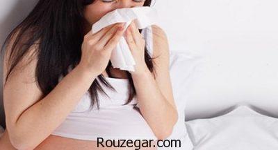 درمان طبیعی سرماخوردگی در بارداری،علت سرماخوردگی در بارداری،عوارض سرماخوردگی در بارداری