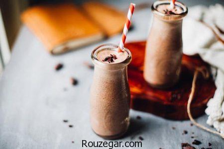 شیر کاکائو,طرز تهیه شیر کاکائو مجلسی,آموزش شیر کاکائو خوشمزه
