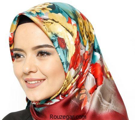 مدل روسری مارک دار،مدل روسری مارک دار زنانه