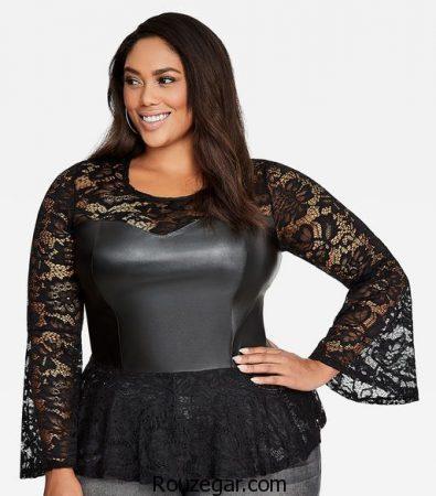 مدل لباس ریون سایز بزرگ، مدل لباس ریون سایز بزرگ زنانه