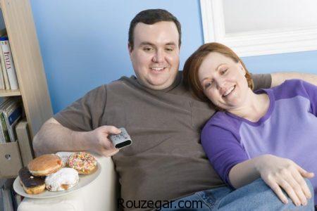 علت چاقی، علت چاقی بعد از ادواج