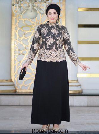 مدل لباس مجلسی سایز خیلی بزرگ، مدل لباس مجلسی سایز خیلی بزرگ زنانه