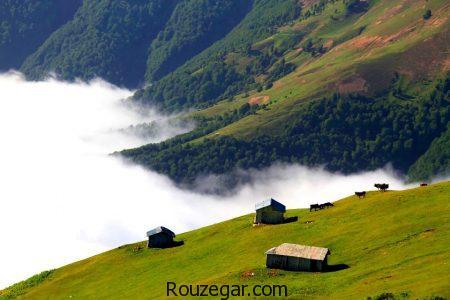 جاذبه های گردشگری گیلان، مناطق دیدنی گیلان