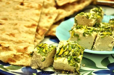 حلوا ارده سنتی,طرز تهیه حلوا ارده سنتی خوشمزه,آموزش حلوا ارده سنتی با شیره خرما