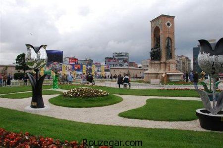 جاذبه های گردشگری استانبول، مناطق دیدنی استانبول