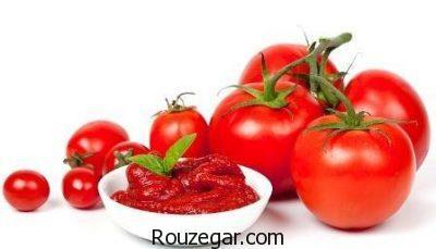 خواص گوجه فرنگی در دیابت،خواص گوجه فرنگی برای مو،خواص گوجه فرنگی در صبح