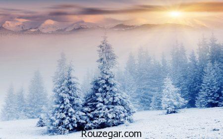متن ادبی در مورد برف، متن ادبی در مورد برف و زمستان