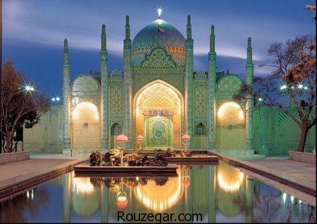 جاذبه های گردشگری قزوین، مناطق دیدنی قزوین