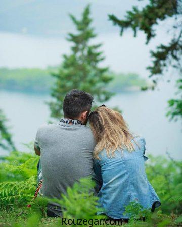 عکس های عاشقانه زیبا ، عکس های عاشقانه زیبا دختر وسر