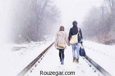 شعر کوتاه در مورد زمستان، شعر کوتاه عاشقانه در مورد زمستان