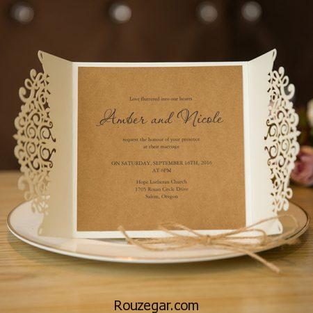 مدل کارت عروسی 2018، مدل کارت عروسی