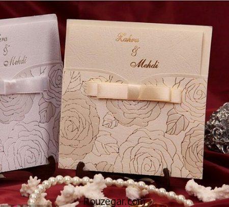 کارت عروسی با قیمت، مدل کارت عروسی جدید