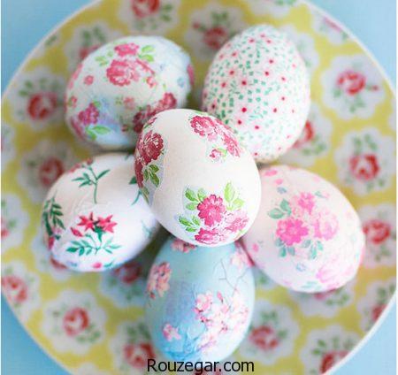 تزیین تخم مرغ هفت سین 97 ، تزیین تخم مرغ