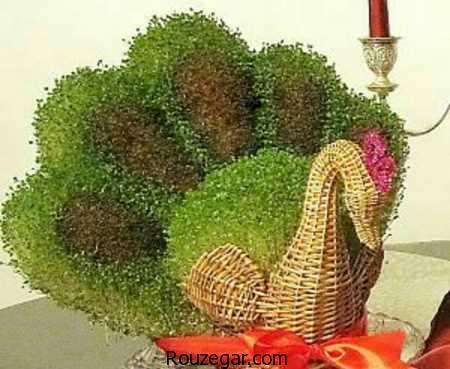کاشت سبزه عید نوروز 97، سبزه عید نوروز