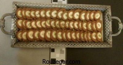 طرز تهیه حلوای رولی با موز,روش تهیه حلوای موز,دستور پخت تهیه حلوای موز