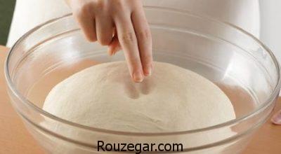 طرز تهیه خمیر پیراشکی,خمیر پیراشکی در فر,خمیر پیراشکی با ماست