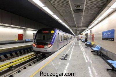 خطوط مترو تهران 97,دانلود نقشه مترو تهران 97,جدیدترین نقشه خطوط مترو تهران