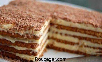 طرز تهیه تیرامیسو شکلاتی,تهیه تیرامیسو با کیک,تهیه تیرامیسو ساده