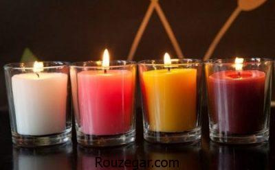 آموزش شمع سازی با گل خشک,آموزش شمع سازی ژله ای,آموزش شمع سازی مبتدی