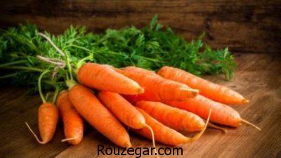 خواص هویج سیاه,خواص هویج پخته,خواص هویج برای پوست