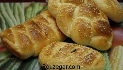 نان خرمایی خانگی,تهیه نان خرمایی بدون فر,طرز تهیه نان خرمایی گرگان