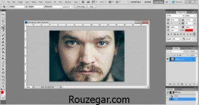 بالا بردن کیفیت عکس در فتوشاپ cs5,افزایش وضوح عکس با فتوشاپ,جدیدترین روشافزایش کیفیت عکس در فتوشاپ