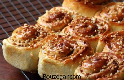 طرز تهیه شیرینی دانمارکی خانگی,طرز تهیه شیرینی دانمارکی با تصویر,طرز تهیه شیرینی دانمارکی بدون فر