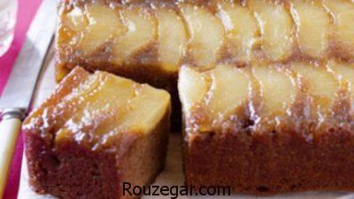 کیک کدو حلوایی با شیر,طرز تهیه کیک کدو حلوایی,کیک کدو حلوایی در ماهیتابه
