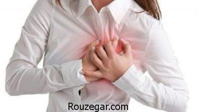 درد قلب نشانه چیست,علت درد قلب در جوانان,نشانه های خطرناک درد قلب