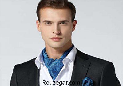 دستمال گردن زنانه مجلسی,دستمال گردن مردانه کلاسیک,نحوه بستن دستمال گردن