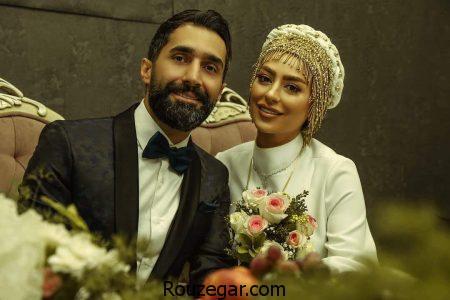 سمانه پاکدل و همسرش هادی کاظمی