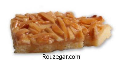 شیرینی بادام هندی پودری,طرز تهیه شیرینی بادام هندی,شیرینی بادام هندی هانی شف