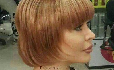 رنگ موی عسلی شکلاتی,رنگ موی عسلی نسکافه ای,رنگ موی عسلی نسکافه ای