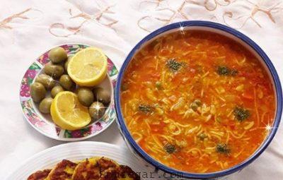 طرز تهیه سوپ شلغم مرغ,سوپ شلغم برای سرماخوردگی,سوپ شلغم و اسفناج