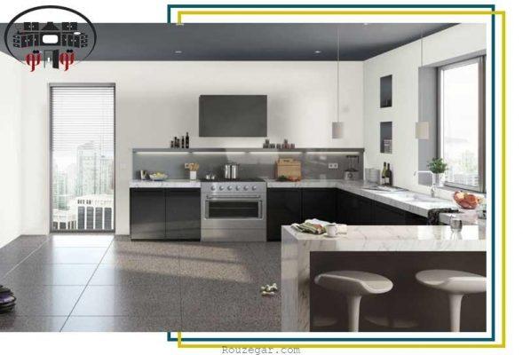طراحی کابینت مدرن و کلاسیک آشپزخانه