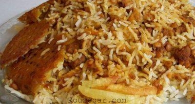 قیمه پلو با گوشت چرخ کرده,طرز تهیهقیمه پلو با گوشت,قیمه پلو شیرازی