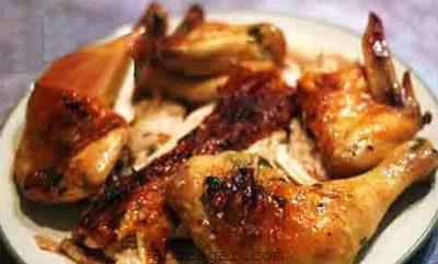 خوراک مرغ اسپانیایی,طرز تهیه مرغ اسپانیایی,برنج و مرغ اسپانیایی