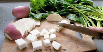 ترشی شلغم شیرازی,طرز تهیه ترشی شلغم سفید,ترشی شلغم سیب زمینی