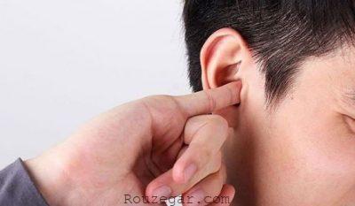 خارش گوش,علت خارش گوش و گلو,علت خارش لاله گوش