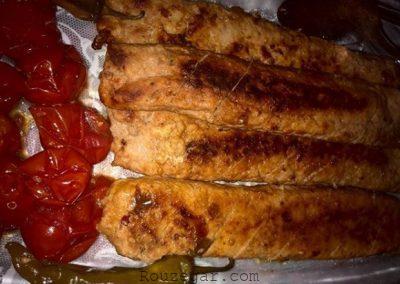 طرز تهیه کباب شکم پر,کباب شکم پر,شامی کباب شکم پر,کباب شکم پر با گوشت مرغ