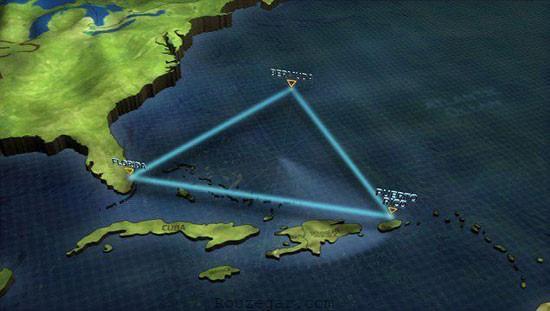 مثلث برمودا در کجا واقع شده است؟