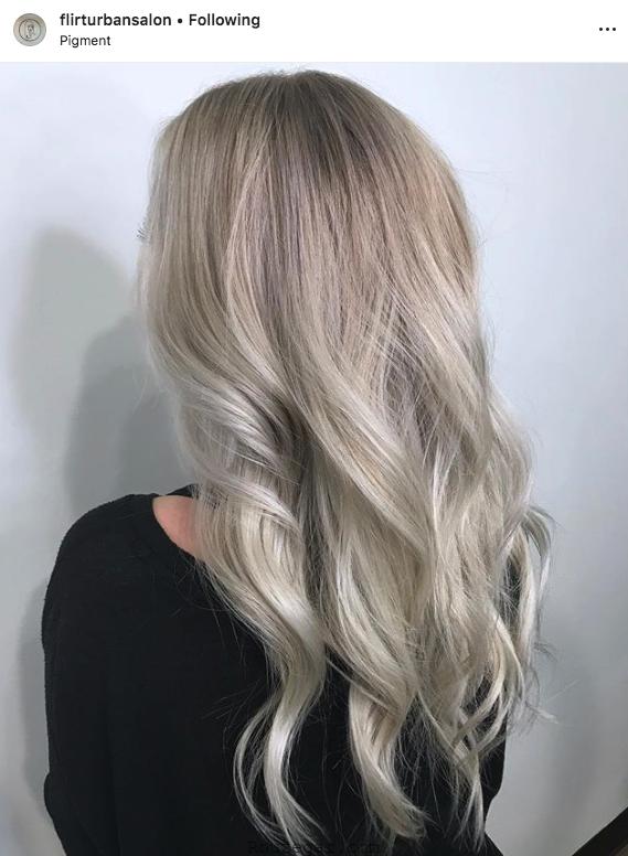 رنگ مو مد 2019
