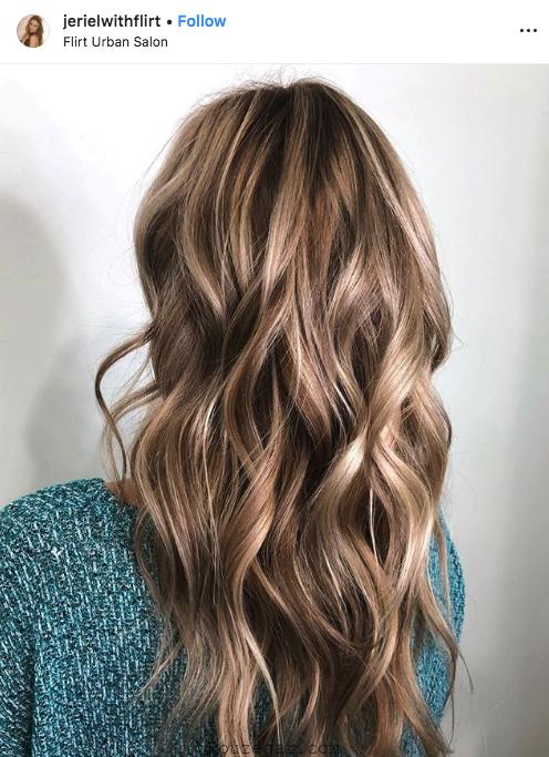 رنگ موی مدل 2019